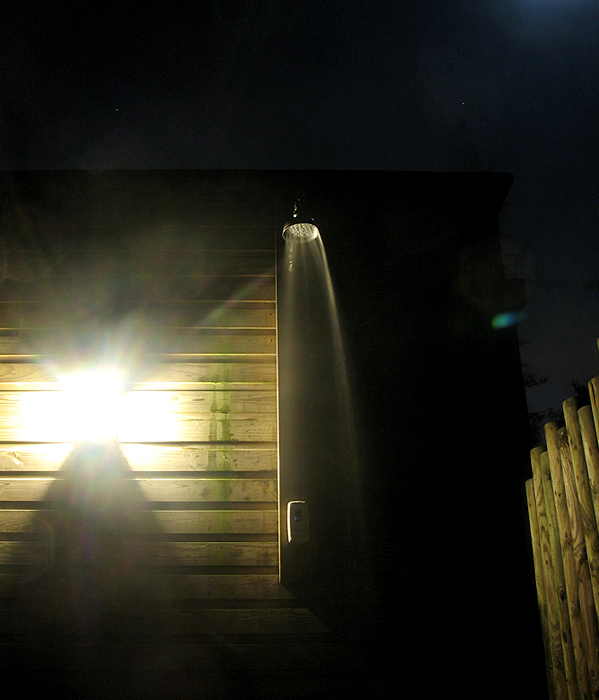 sauna shower